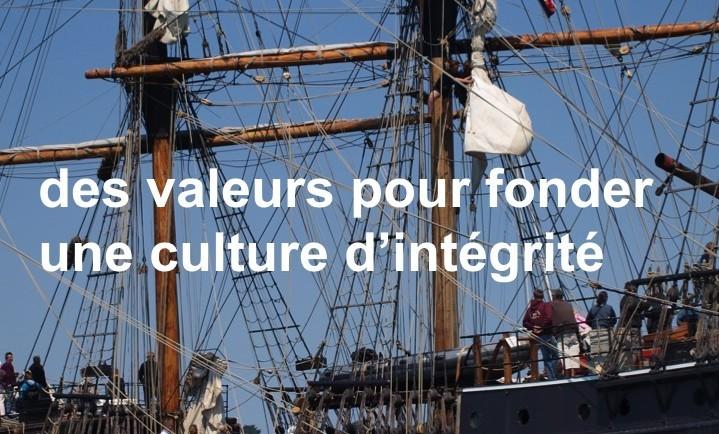 des valeurs pour fonder une culture d'intégrité jdl ethiconsult