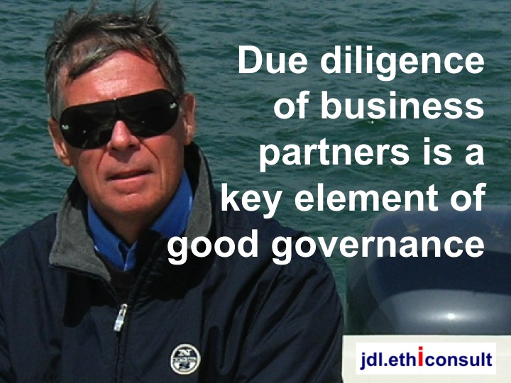 jdl ethiconsult preventigation due diligence is a key element of good governance blouson North Sail