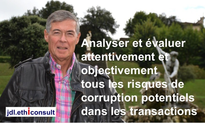 jdl ethiconsult jeandaniel lainé analyser evaluer les risques de corruption potentiels dans les transactions blouson levi's