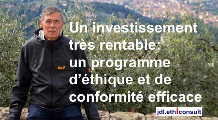 jdl ethiconsult un investissement rentable un programme d'éthique et de conformité efficace blouson Jack Wolfskin