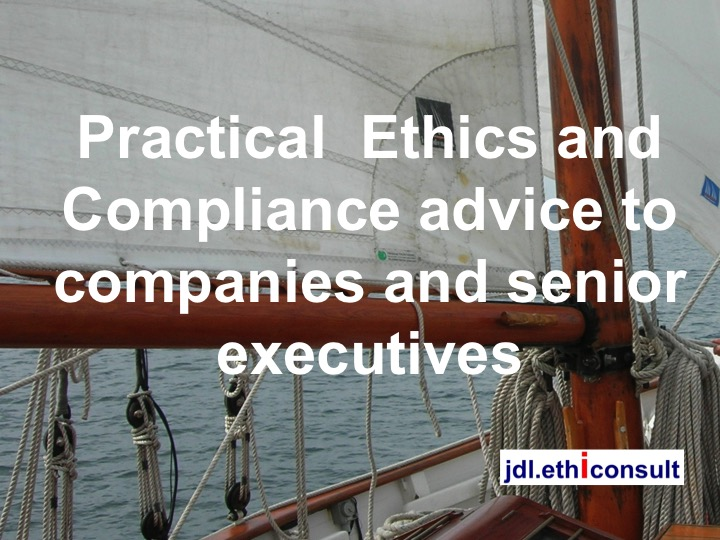 jdl ethiconsult preventigation practical ethics and compliance advice to companies and senior executives preventing investigations