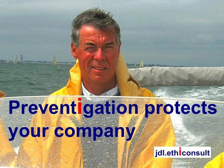 jdl ethiconsult preventigation protects your company business ethics compliance veste ciré guy cotten