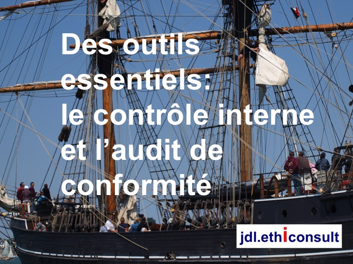 jdl ethiconsult preventigation des outils essentiels le contrôle interne et l'audit de conformité business ethics internal control and compliance audit