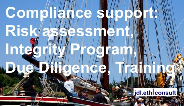 jdl ethiconsult préventigation compliance programme risk assessment integrity program due diligence training