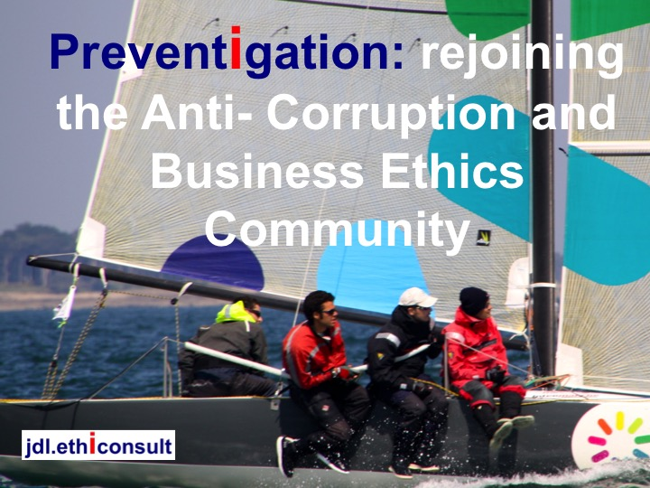 jdl ethiconsult preventigation rejoining the anti-corruption and business ethics community