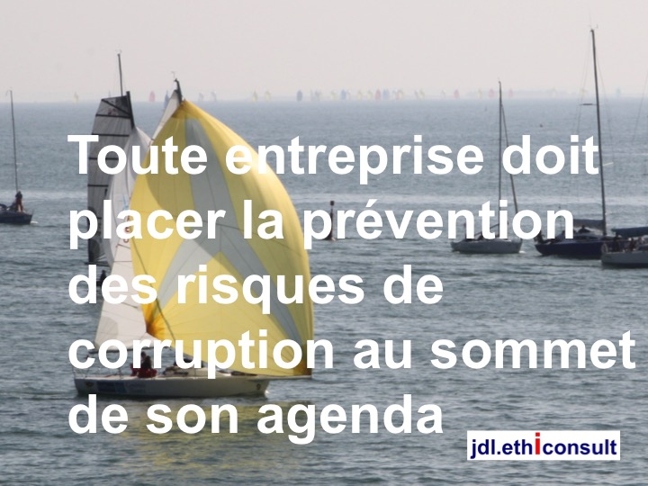 jdl ethiconsult toute entreprise doit placer la prévention de la corruption au sommet de son agenda