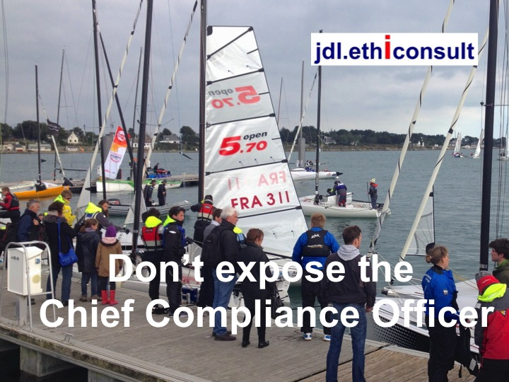jdl ethiconsult don't expose the Chief compliance officer