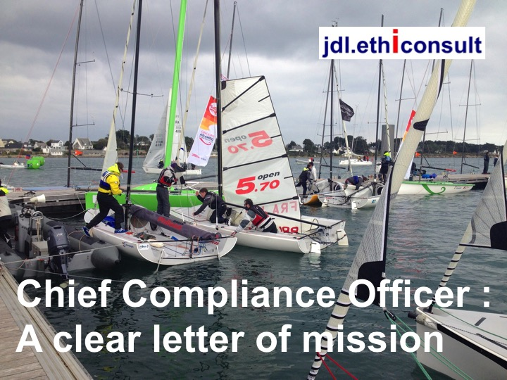 jean Daniel lainé jdl ethiconsult chief compliance officer a clear letter of mission