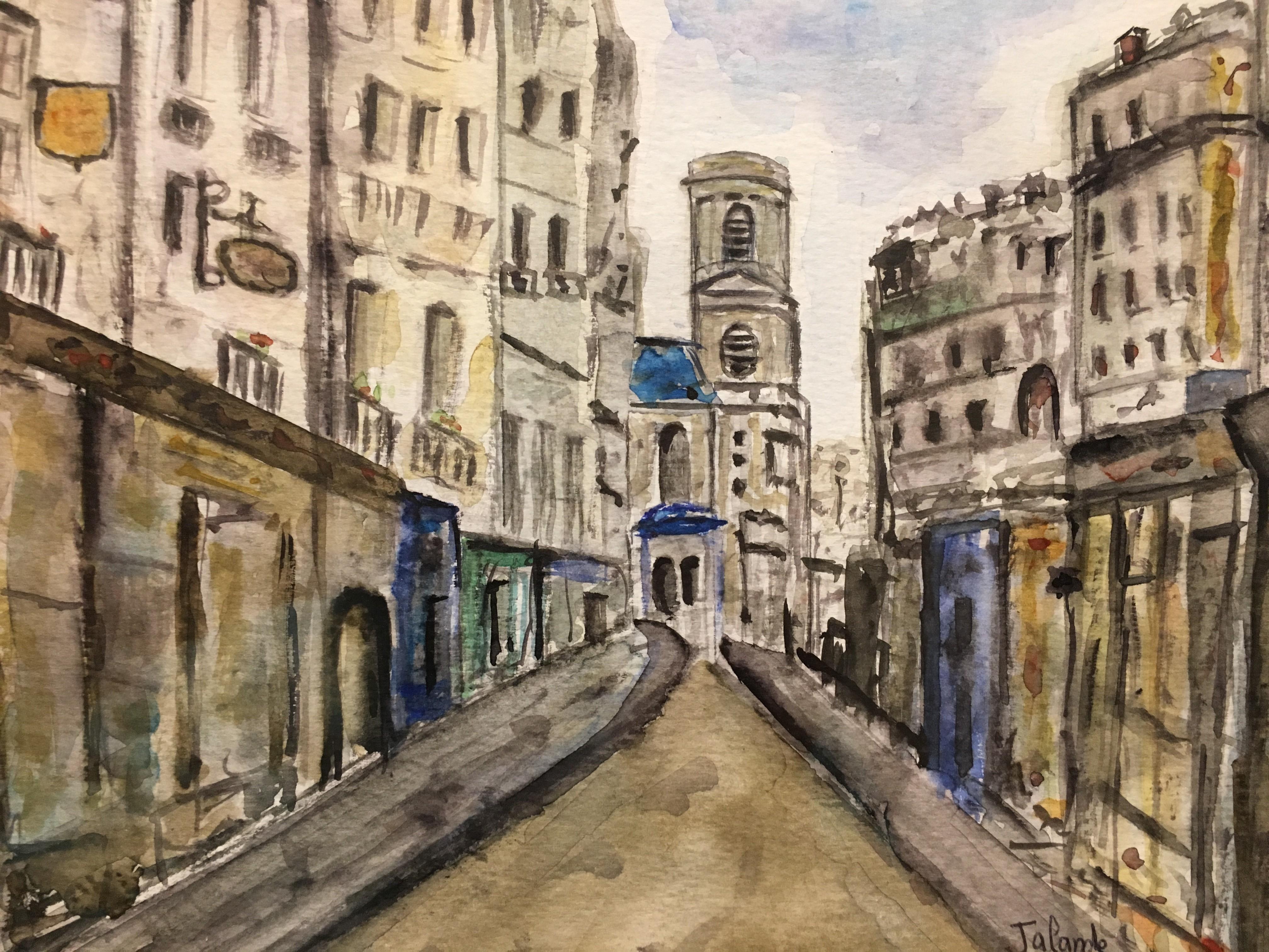 une-rue-de-paris